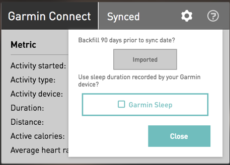 Recording and importing Sleep into ithlete Pro