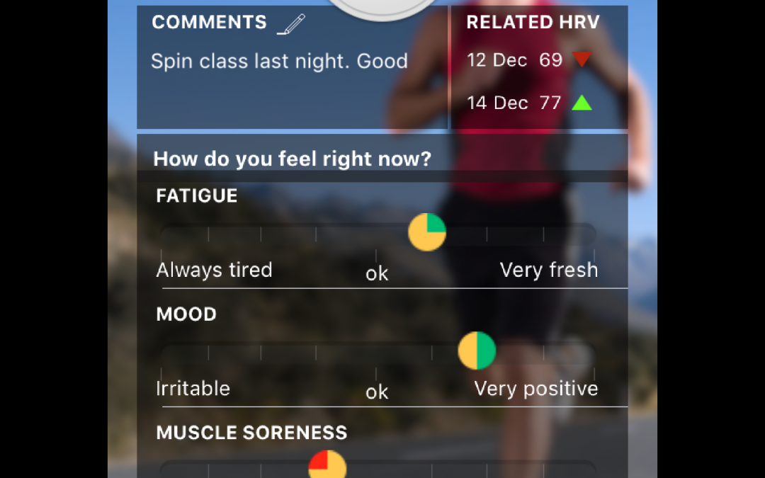 Why ithlete? Adding context to HRV with Wellness metrics