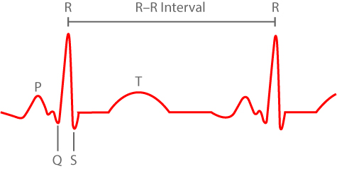 Figure 1: Measuring HRV