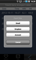 ithlete Android Version 2 Export Data