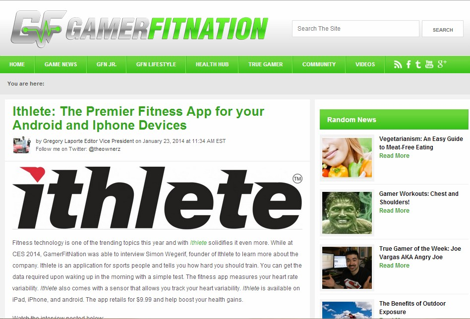 GamerFitNation review