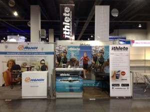 CES 2014 ithlete booth