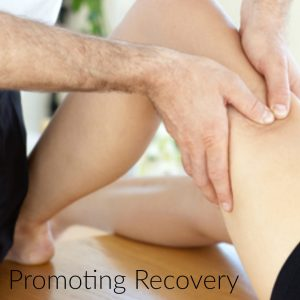 Sports massage can enable recovery