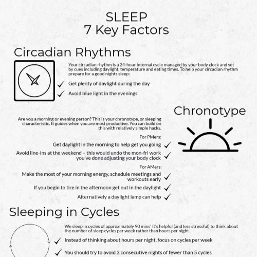 7 key sleep factors – could you improve yours?